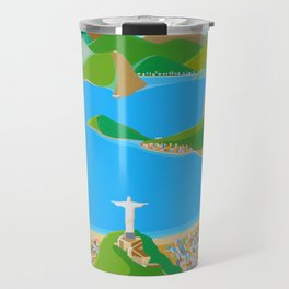 SUGAR LOAF IN RIO DE JANEIRO Travel Mug