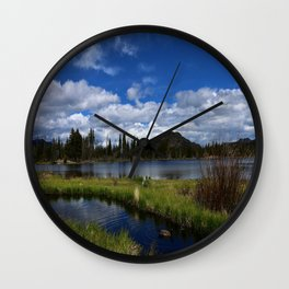 A Beautiful Day In May Wall Clock