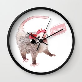 Flawless Wall Clock