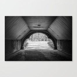 Central Park Underpass Canvas Print