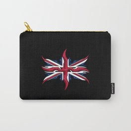Union Jack British Flag Resistance Style Carry-All Pouch