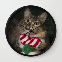 Holiday Arbor Wall Clock
