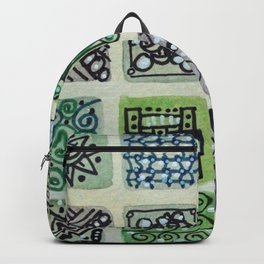 Watercolor Tile 5480 Backpack