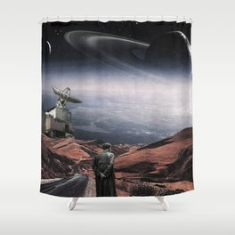 So far away from home ... Shower Curtain