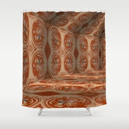 Iconic Hollows 20 Shower Curtain