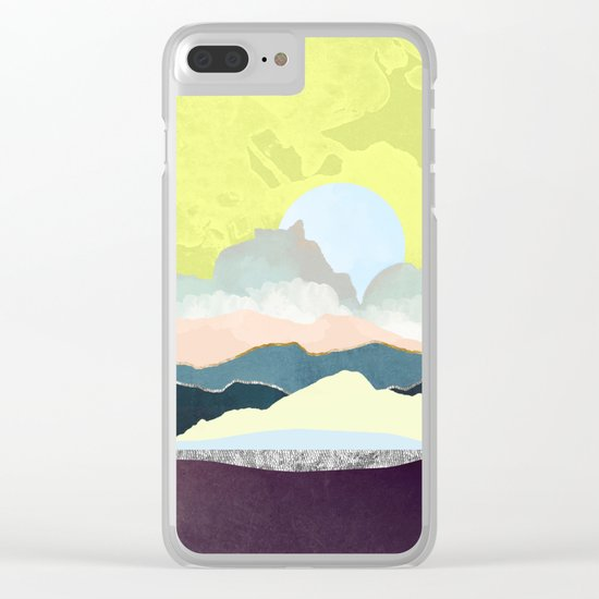 Pastel Afternoon Clear iPhone Case