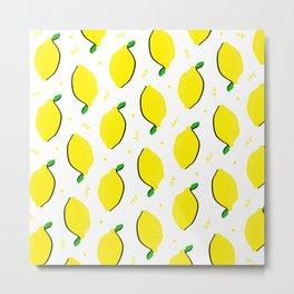 Lemon Squeezy 02 Metal Print