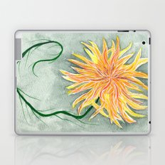 yellow dahlia Laptop & iPad Skin