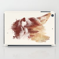 country iPad Cases featuring Blind fox by Robert Farkas