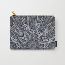 Floral explosion mandala for rejuvenation Carry-All Pouch