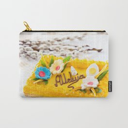 yellow decorative Easter cake Carry-All Pouch