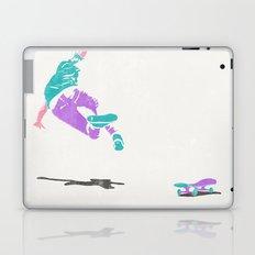 skateboarding 2 (lost time, risograph) Laptop & iPad Skin