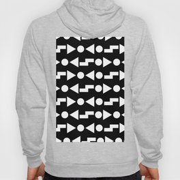 B&W Shapes #1 Hoody
