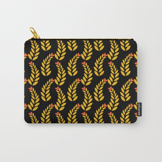 leaf pattern 1 Carry-All Pouch