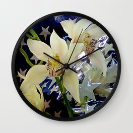Good Morning Starshine Wall Clock