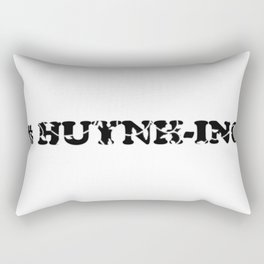 #Huynh-ing Scattered Leaves Rectangular Pillow