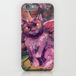 fairy unicorn cat iPhone Case