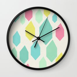 Diamond Shower II Wall Clock