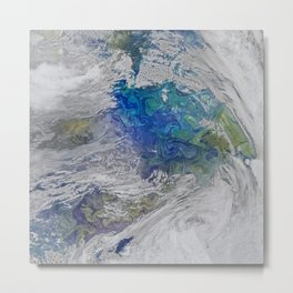 Earth 3 Metal Print