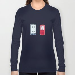 Smartphone Long Sleeve T-shirt