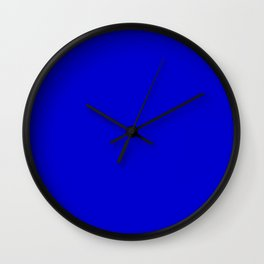 Medium Blue Wall Clock