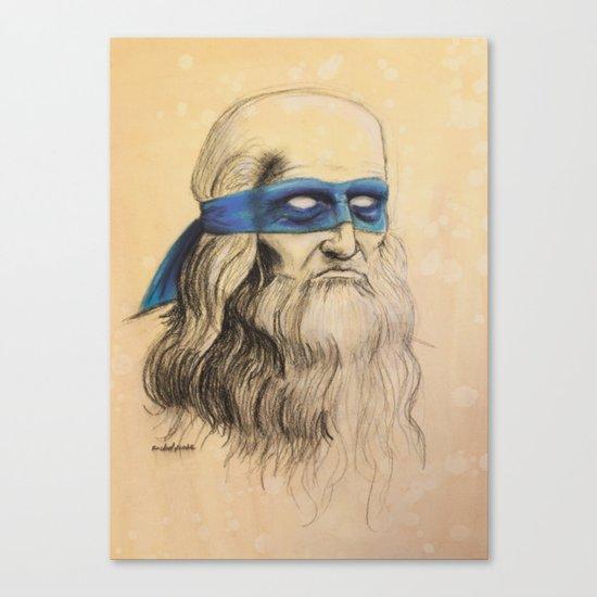 Leo TMNT Canvas Print