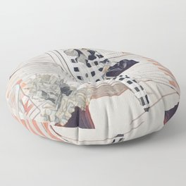 I'm positively bedeviled with meetings et cetera. Floor Pillow
