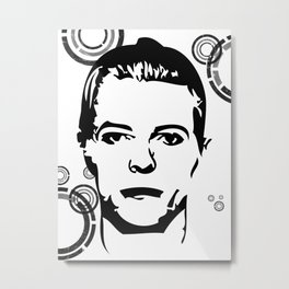 Thin White Duke Metal Print