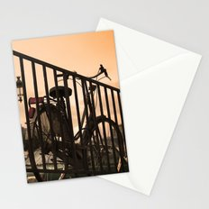 Bike in Paris Stationery Cards