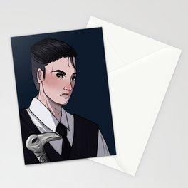 heart brekker Stationery Cards