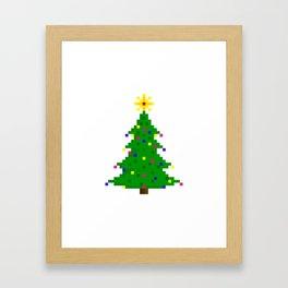 Chritmas tree Framed Art Print