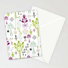 Retro Folk Stationery Cards
