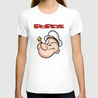 popeye T-shirts featuring popeye by store2u
