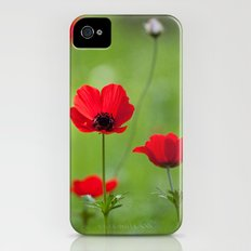 Anemones Slim Case iPhone (4, 4s)