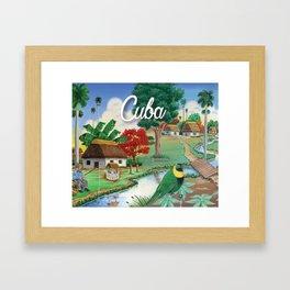 Cuba Scenery 2 Framed Art Print