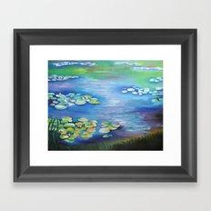 Water Lilies Framed Art Print