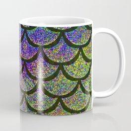 Parakeet Periwinkle Scales Coffee Mug