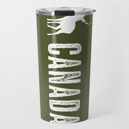 Deer: Canada Travel Mug