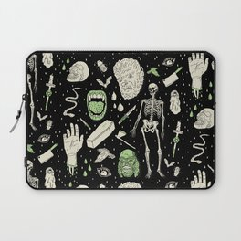 Whole Lotta Horror: BLK ed. Laptop Sleeve