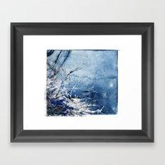 In Stormy Waters Framed Art Print