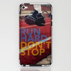 Run Hard. iPhone & iPod Skin