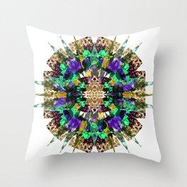 Flower Stellation  Throw Pillow