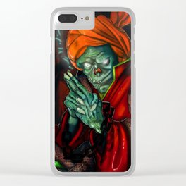 The Fortune Teller Clear iPhone Case