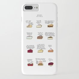 Waitress Pies iPhone Case