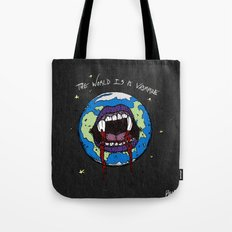 The World Is A Vampire Tote Bag