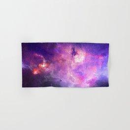 Purple space Hand & Bath Towel