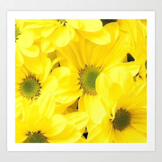 Happy Of A Flower Art Print