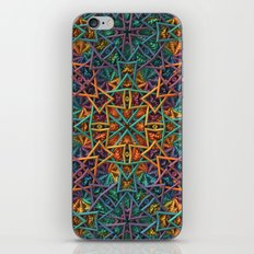 Colorful Fractal Pattern iPhone & iPod Skin
