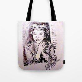 Gracie Allen Tote Bag