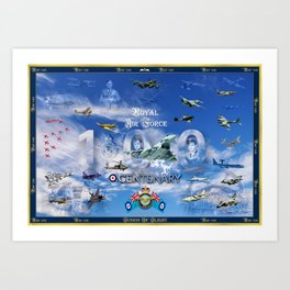 FUSION OF FLIGHT Art Print